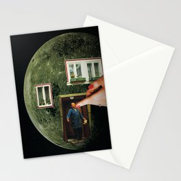 """MoonMan"" Stationery Cards"