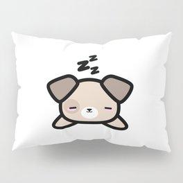 Cute Sleeping Dog Kawaii Style Pillow Sham