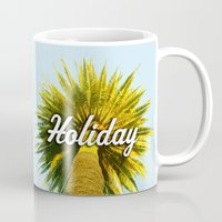 holiday Mugs featuring Holiday by husavendaczek