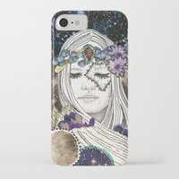 luna iPhone & iPod Cases featuring Luna by Jenndalyn