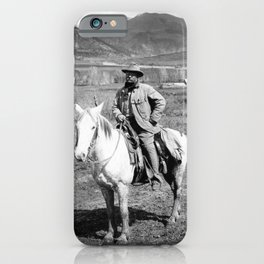 Theodore Roosevelt Returning From A Bear Hunt - Colorado - 1905 iPhone Case