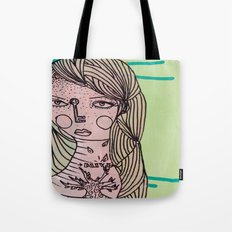 Alive Key Tote Bag