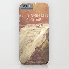 wonderful waterfalls iPhone 6s Slim Case
