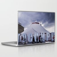 moscow Laptop & iPad Skins featuring Moscow Circus by Jonathan May