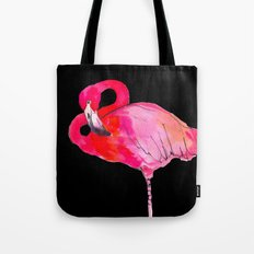 Fancy Flamingo Tote Bag