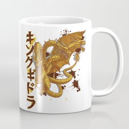 Three-Headed Lightning Death Coffee Mug