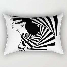 Valerie Pleased Rectangular Pillow