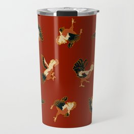 Fighting Roosters Travel Mug