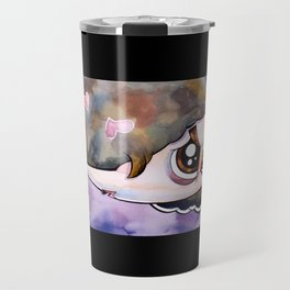 Scott Pilgrim caricature Travel Mug