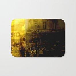 1st arrondissement-yellow Bath Mat