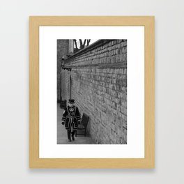 London guard  Framed Art Print