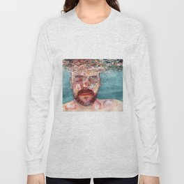 Watercolour Long Sleeve T-shirt