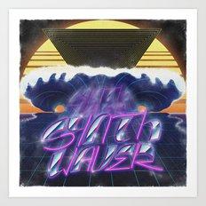 Synthwaver Art Print