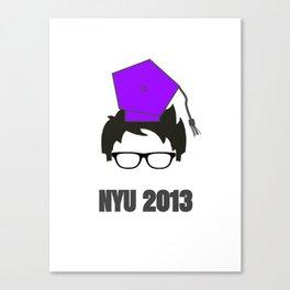 NYU Grad Canvas Print