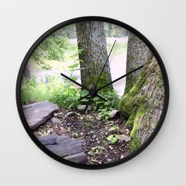Conference of Trees Wall Clock