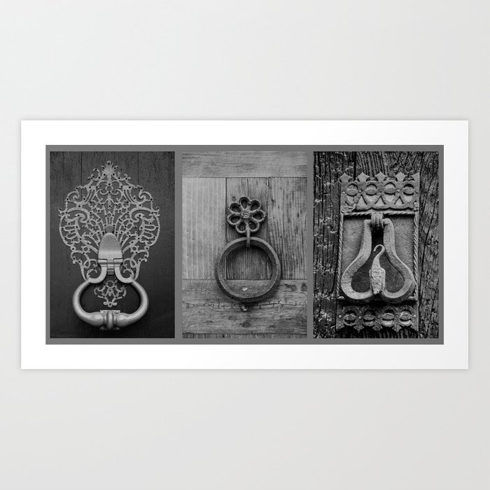 door knockers Art Print