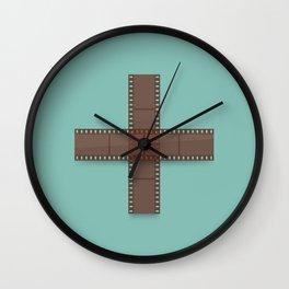 Double Negative Wall Clock