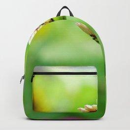 Zinnia Flower Bud Backpack