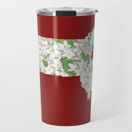 Massachusetts in Flowers Travel Mug