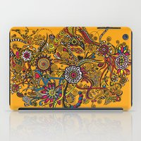 leah flores iPad Cases featuring Flores by Cris Couto