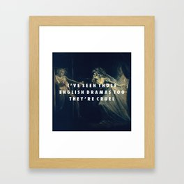 Fuseli Comma Framed Art Print