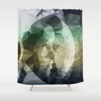 interstellar Shower Curtains featuring Interstellar by Nirvana.K