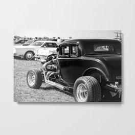 Antique Car Show Metal Print