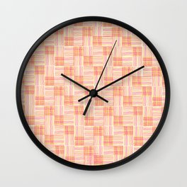 Interpretive Weaving (Autumn Breeze) Wall Clock