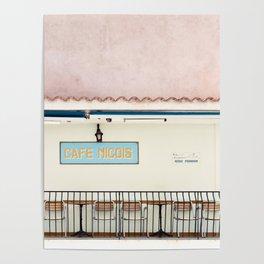 Café Nicois Poster
