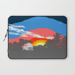 Floria Key Biscayne Beach Laptop Sleeve