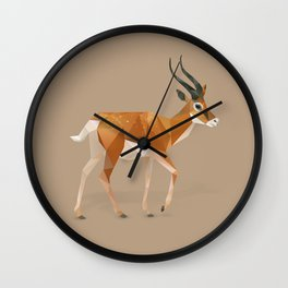 Gazelle. Wall Clock