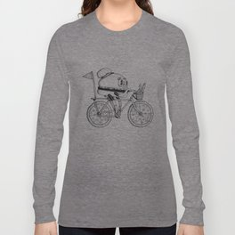 Pizzabike Burger Long Sleeve T-shirt