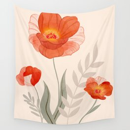 Summer Flowers II Wall Tapestry