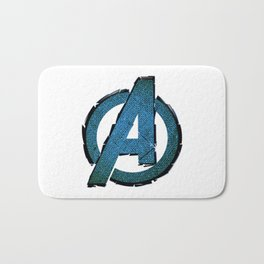 UNREAL PARTY 2012 AVENGERS LOGO FLYERS Bath Mat