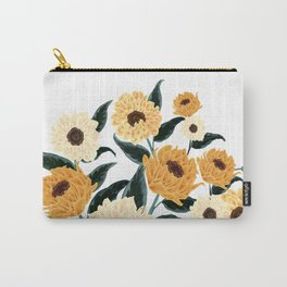 Many Sunflowers Carry-All Pouch