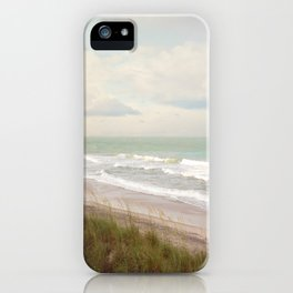 Surf City NC Fine Art Photography iPhone Case