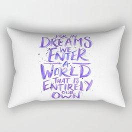 In Dreams Rectangular Pillow