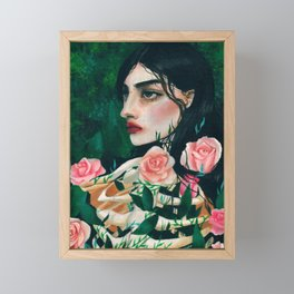 Hunger Framed Mini Art Print