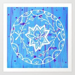 Calathea Mandala Art Print