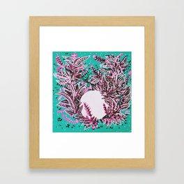 Moon Sphere Framed Art Print