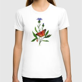 Painted Lady (Cosmopolitan) Butterfly T-shirt