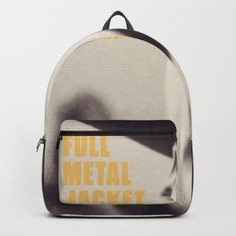 Full Metal Jacket, Stanley Kubrick, alternative movie poster, minimalist print, Vietnam War, Marines Backpack