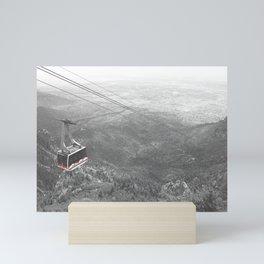 """""""Flying Over Sandia"""" Mini Art Print"""