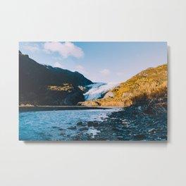 Exit Glacier - Kenai Fjords National Park Metal Print