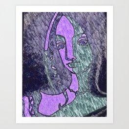 Our Lady Adah Art Print