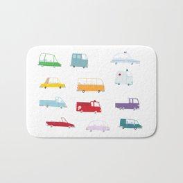 Cars Print pattern Bath Mat
