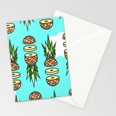 Eat pineapples Stationery Cards