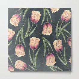 Tulipa Pattern 1.3 Metal Print