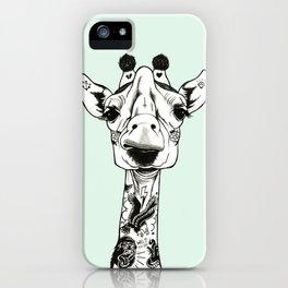Giraffe Tattooed iPhone Case