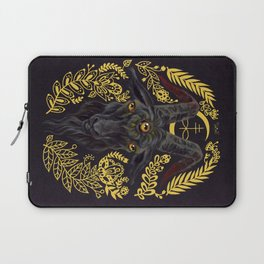 Black Goat of the Woods Laptop Sleeve